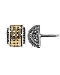 John Hardy - Metallic Highway Mini Dot Earrings - Lyst