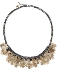 Paul Smith - Metallic Clover Necklace - Lyst