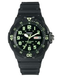 ASOS   Black Casio Watch Mrw200h3bvef for Men   Lyst