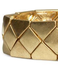 H&M - Metallic Matt Metal Bracelet - Lyst