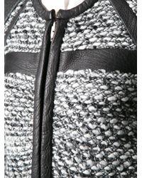 IRO | Black Bouclé Knit Jacket | Lyst