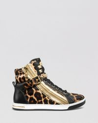 Michael Michael Kors High Tops Glam Studded In Brown Lyst