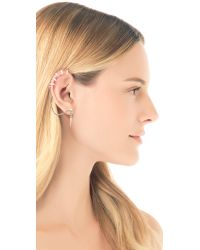 A Peace Treaty - Metallic Tonteel Cage Ear Cuff - Lyst