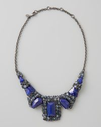 Alexis Bittar - Blue Nova Large Custom Lapis Necklace - Lyst