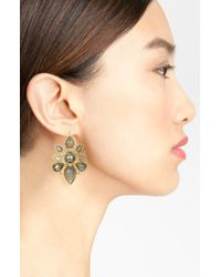Alexis Bittar   Metallic Elements Jardin De Papillon Statement Earrings   Lyst