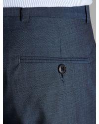 Ben Sherman - Blue Mohair Tonic Slim Suit Trousers for Men - Lyst