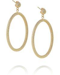 Carolina Bucci | Metallic 18karat Gold Large Hoop Earrings | Lyst