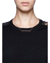 Marc By Marc Jacobs | Metallic Letterpress Short Necklace | Lyst