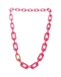 Ted Baker | Pink Jacey Chain Necklace 189 | Lyst