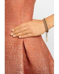Carolina Bucci - Metallic Woven 18karat Rose Gold Cuff - Lyst