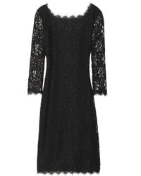 Diane von Furstenberg | Black Zarita Lace Dress | Lyst