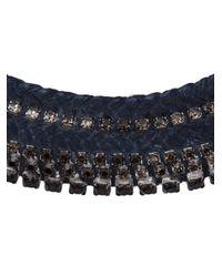 Alyssa Norton   Blue Braided Chain Necklace   Lyst