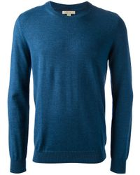 Burberry Brit | Blue Classic Crew Neck Sweater for Men | Lyst