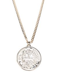 Givenchy | Metallic Pendant Necklace | Lyst