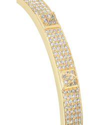 Anita Ko - Metallic Spike 18karat Gold Diamond Bracelet - Lyst