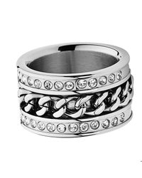 Dyrberg/Kern | Metallic Nerissa Shiny Silver Ring | Lyst