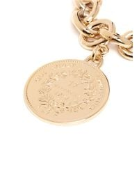 Givenchy | Metallic Small Medallion Chain Bracelet | Lyst