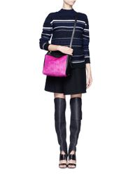 3.1 Phillip Lim | Pink Ryder Small Calf-hair Bag | Lyst