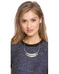 Madewell - Metallic Double Collar Necklace - Lyst