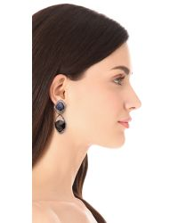 Alexis Bittar - Blue Orbiting Suspended Clip On Earrings - Lyst