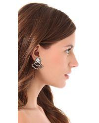 Auden | White Coralia Earrings | Lyst