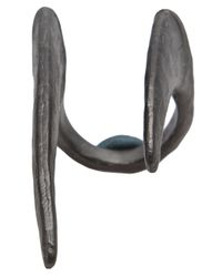 Bjorg | Gray Bronze Ring | Lyst
