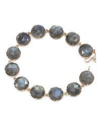 Irene Neuwirth | Blue Rose Cut Labradorite Bracelet | Lyst