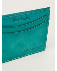 Paul Smith - Green Card Holder for Men - Lyst