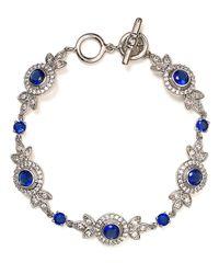 Carolee - Metallic Looking Glass Flex Bracelet - Lyst