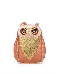 Charlotte Olympia - Multicolor Owl Shoulder Bag - Lyst