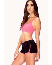 Forever 21 - Pink Low Impact Sports Bra - Lyst