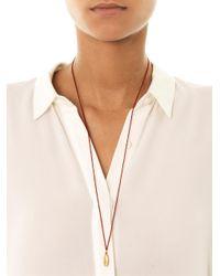 Mathias Chaize | Metallic Heart Engraved Pendant Necklace | Lyst