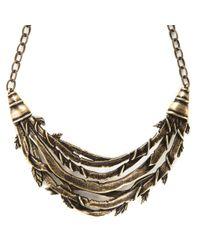 Pamela Love | Metallic Banner Necklace | Lyst