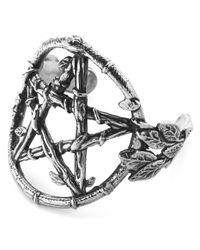 Pamela Love | Metallic Ouroboros Cuff | Lyst