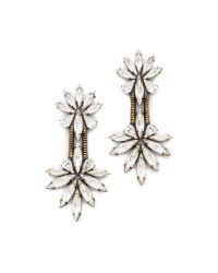 Auden | White Devon Earrings | Lyst