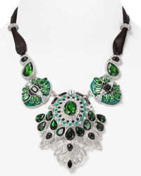 Carolee | Green Eastern Opulence Drama Necklace 18 | Lyst