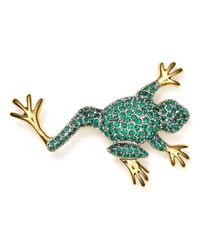 Carolee | Metallic Frog Pin | Lyst