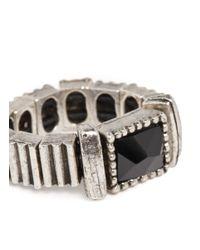 Philippe Audibert | Metallic Stone And Beads Rings | Lyst