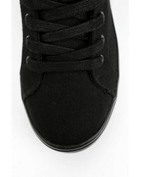 Urban Outfitters - Black Cute To The Core Monster Tonal Hightop Flatform sneaker - Lyst