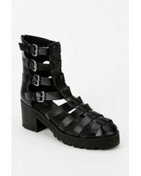 Urban Outfitters - Black Deena Ozzy Caged Platform Sandal - Lyst