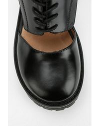 Urban Outfitters - Black Jeffrey Campbell Missing Cutout Oxford for Men - Lyst