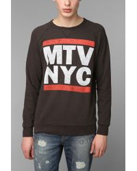 Urban Outfitters | Black Junk Food Mtv Nyc Sweatshirt for Men | Lyst
