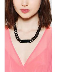 Urban Outfitters - Black Luvaj The Id Necklace - Lyst
