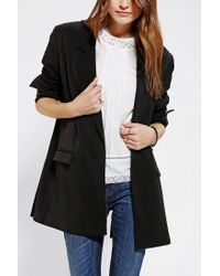 Urban Outfitters | Black Silence Noise Oversized Blazer | Lyst