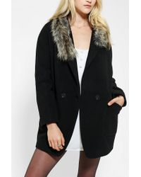 Urban Outfitters - Black Spiewak Duchess Coat - Lyst