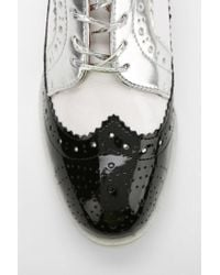 Urban Outfitters - Black Brogue Oxford for Men - Lyst