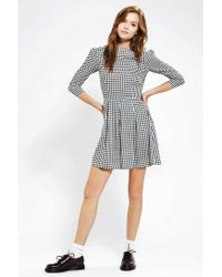 Urban Outfitters | Black Piplette By Alice Ritter Stars Skater Dress | Lyst