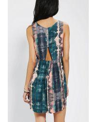 Urban Outfitters | Blue Ecote Peekaboo Babydoll Dress | Lyst