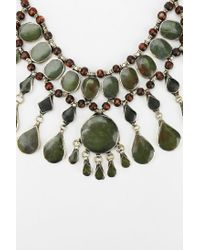 Urban Outfitters | Red Selma Stone Necklace | Lyst