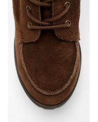 Urban Outfitters | Brown Bdg Toni Treaded Platform Boot | Lyst